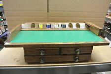 Hand Crafted Fishing Fly Tying Desk