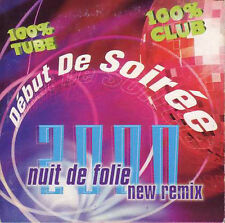 CD SINGLE DEBUT DE SOIREE Nuit de Folie New remix 2000 CARD SLEEVE 4-track EX