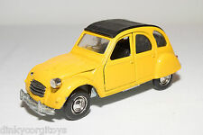 POLISTIL S-219 S219 S 219 CITROEN 2CV 2 CV YELLOW EXCELLENT CONDITION RARE
