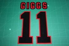 Manchester United 96/97 #11 GIGGS AwayKit Nameset Printing