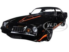 1979 CHEVROLET CAMARO Z/28 BLACK WITH BLACK INTERIOR 1/18 BY GREENLIGHT 12905