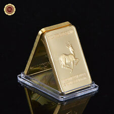 Wr Gift Africa King Sa Lion 999. 24k Gold Bar Wild Animal Bullion Bar Collection