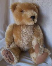 "HERMANN Old German Stuffed Mohair TEDDY BEAR 15"" JOINTED 1920s Replica COBURG"