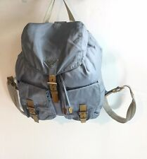 PRADA VELA LARGE TWO-POCKET BACKPACK