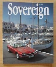 JAGUAR SOVEREIGN orig 1994 International Magazine Brochure - Edition 11