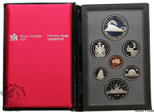 Canada 1986 Vancouver Double Dollar Set