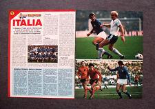 AN31- Clipping-Ritaglio -1978- ITALIA IN ARGENTINA,SCHEDA TECNICA DEGLI AZZURRI