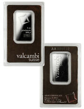 Valcambi Suisse 1 Oz .9995 Platinum Bar - Sealed w/ Assay Cert. SKU28602