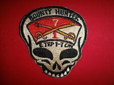Desert Storm (1990-1991) Patch US 7th Cavalry Rgt 1st Sq E Troop BOUNTY HUNTER