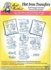 Duck Tales Aunt Martha's Hot Iron Embroidery Transfer #3983