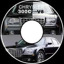 CHRYSLER 300C 2005-2006-2007-2008 5.7L-6.1L V8 HEMI WORKSHOP REPAIR MANUAL CD