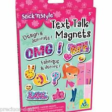 Stick'N Style®  Text Talk Magnets  ORB Factory Fun & Activity for Children 5+