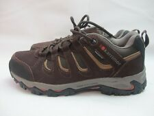 Mens Karrimor Mount Low Walking Hiking Brown Shoes Uk 9 EUR 43
