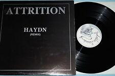 """Attrition - Haydn, Vinyl, 12"""" Maxi, Belgium'88, vg++"""