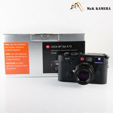 Leica M7 camera Set 0.72 10546 Black W/ Summicron-M 50mm f2.0 Lens Ver.IV