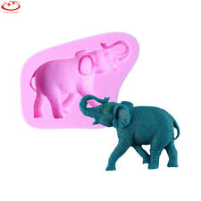 3D Elephant Animal Silicone Fondant Mould Cake Decorating Chocolate Baking Mold