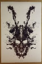 "Donnie Darko  FULL SIZE 36"" x 24"" Frank the Rabbit Skull Inkblot Poster"