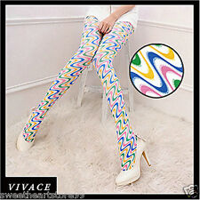 P222 Japan style tights high pantyhose color drwaing stocking