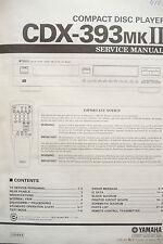 Service Manual für Yamaha CDX-393 MKII  ,ORIGINAL