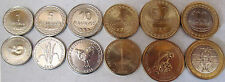 Timor set of 6 coins 2004-2012 (1+5+10+25+50+100 Centavos) UNC