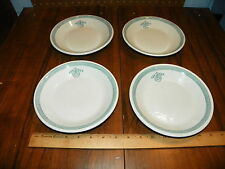 "1923 Set of 4 ALBERT PICK BUFFALO CHINA ""TULIP"" Hotel Soup Bowl ""HP""           #"