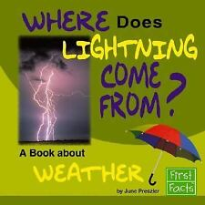 Where Does Lightning Come From?: A Book About Weather (Why in the Worl-ExLibrary