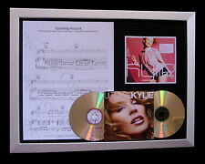 KYLIE Spinning Around GALLERY QUALITY MUSIC CD FRAMED DISPLAY+FAST GLOBAL SHIP