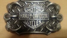HARLEY DAVIDSON  belt buckle NEW with EAGLE CLAWS
