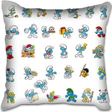 Smurfs Vintage Smurfette Pa Pa Girls Gift Toy Plush Home Car Pillow Bag Cushion