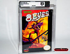 8 Eyes Nintendo NES Brand New Factory Sealed VGA 85 Mint SNES H-Seam