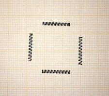 4 x Druckfeder, klein, Länge 15mm, Außen Ø2mm, Drahtstärke 0,2mm