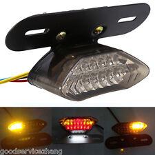 12V 20LED Universal Motorcycle Light Turn Signal Indicators Brake Tail Blinker