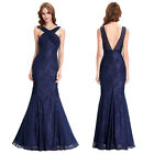 Mermaid Ball Gown Evening Prom Party Dress Bridesmaids Wedding Maxi Cocktail New