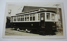 CAN094 1952 TORONTO TRANSPORTATION Commission TROLLEY CAR NoW-23 PHOTO - CANADA