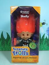 "HALLOWEEN SKELLY SKELETON (#2) - 5"" Ace  Treasure Troll Doll - NEW IN PACKAGE"