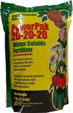 20-20-20 Powerpak water soluble fertilizer - 5 Lb.