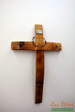 Cross made out of Wine Barrels, Handmade