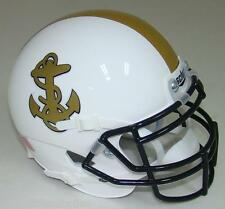 Navy Midshipmen Alternate White Schutt Mini Football Helmet