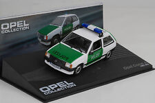 1982 - 1993 Opel Corsa A Polizei  weiß / white  1:43 IXO Altaya Collection