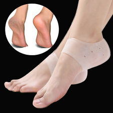 12 Holes Foot Care Silicone Gel Moisturising Heel Socks Cracked Skin Protector