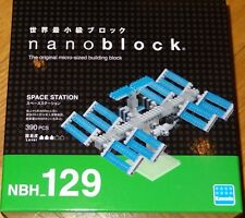 Space Station Nanoblock Micro Sized Building Block Construction Toy Mini NBH129