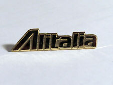 Alitalia Logo pin badge uniform accessory perfect gift pilots crew gold 40mm