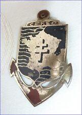 Ancienne Insigne Militaire CEFEO France Libre Croix de Lorraine Général de Gaull