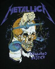 BRAND NEW CLASSIC METALLICA DAMAGED JUSTICE SHIRT FREE SAME DAY SHIPPING SMALL