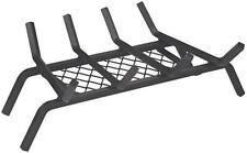 """Homebasix LTFG-W18 Fireplace Grate With Ember Retainer, 18"""""""