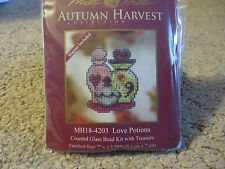 10% Off Mill Hill Autumn Harvest Collection X-stitch/Bead Kit - Love Potions