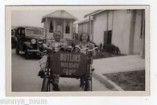 BUTLINS HOLIDAY CAMP, TANDEM BICYCLE NO. 20, RP
