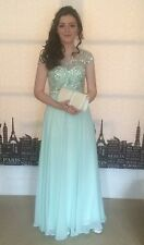 Dress Angel Forever Aqua XS - Size 10 Ideal For Prom
