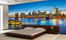 New York City 1 Wall Mural Photo Wallpaper GIANT DECOR Paper Poster Free Paste