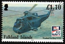Royal Navy Westland SEA KING HAS5 / HAS.5 Helicopter Aircraft (Fly Navy) Stamp